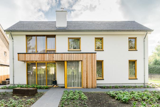 Ver-/nieuwbouw woonhuis te Galder